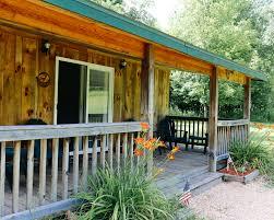 cabin porch birch pine lodge