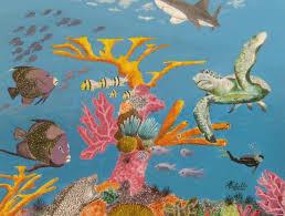 the coral reef arthur estrella art center of citrus county