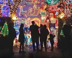 annmarie garden in lights best holiday light displays near baltimore maryland hirschfeld