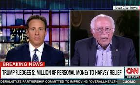 bernie sanders flips out at chris cuomo for asking about 2020 u0027it