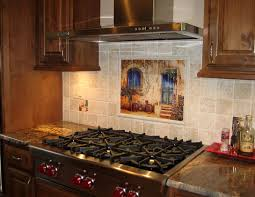 backsplash for kitchen walls kitchen backsplash wall of ages installed kitchen backsplash