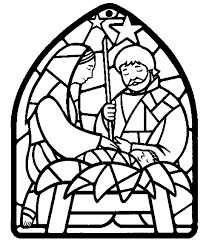 christmas coloring pages the first christmas coloring page