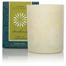 thymes candles offerings candle abundance