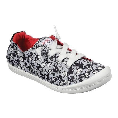 Skechers BOBS Beach Bingo Gato Official Sneaker, Adult,