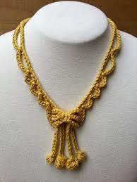 free necklace patterns images Stitch story new free crochet jewelry patterns for kreinik jpg