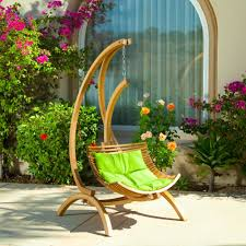Hanging Patio Chair by Unqiue Outdoor Wicker Chair White Seating Cushion Rattan Material