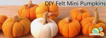 diy mini felt pumpkins american felt u0026 craft blog