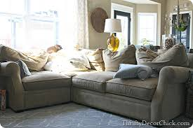Arhaus Slipcover The Family Room Sectional From Thrifty Decor