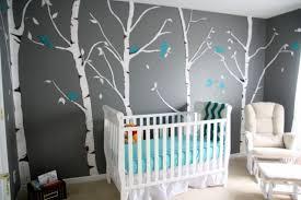 chambre foret stickers chambre bébé 28 belles idées de décoration murale