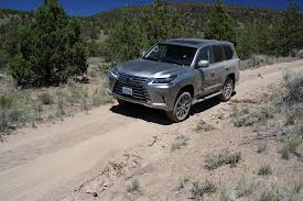 lexus mini wagon off roading with the 2016 lexus lx 570