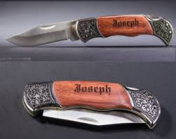 personalized knives groomsmen groomsmen knives etsy