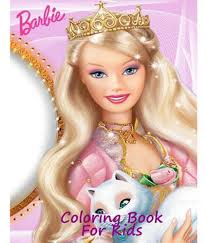 coloring book kids barbie coloring book kids barbie
