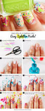 awesome nail art patterns and ideas easy splatter nail tutorial
