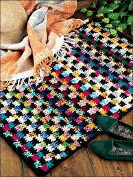 crochet rug patterns free crochet rug patterns bold and beautiful rug