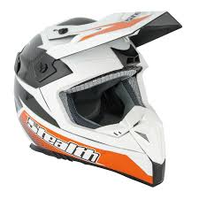 motocross helmets in india stealth hd210 carbon fibre gp replica white black orange mx helmet