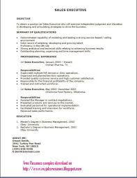 free college resume sles sales executive resume template resume sle