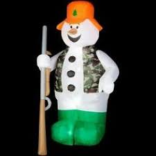 Inflatable Polar Bear Christmas Yard Decorations by 8 Foot Christmas Inflatable Polar Bear With 3 Penguins Yard