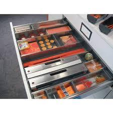 amenagement tiroir cuisine dérouleur papier aluminium accessoires cuisines