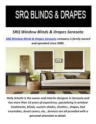 srq window blinds u0026 drapes window treatments in sarasota fl by