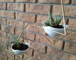 Modern Hanging Planters Hanging Planters Etsy