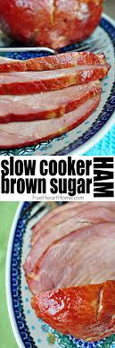 cooker brown sugar ham dinner from the crock pot