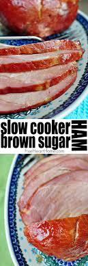 cooker brown sugar ham