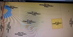 Washington County Tax Map by Salem Real Estate 00 State Route 22 Listing 172625 Lou Hall Sr