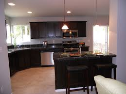 Dark Kitchen Ideas White And Dark Cabinets In Kitchen Awesome Home Design