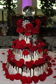 gothic wedding cake theme wedding cake cake design and cookies