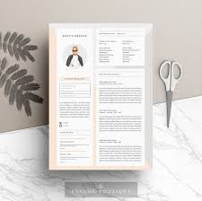 Resume Sample Hk by Resume Template 5pages Modern Muse Resume Templates Creative