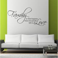 family love wall art sticker quote living room decal mural stencil family love wall art sticker quote living room