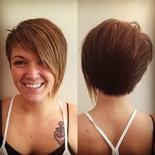 hair that is asymetric in back asymmetrical haircut back view hairstyles ideas
