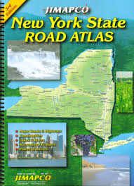Ny State Road Map by New York State Road Atlas Jimapco Inc 9781569145791 Amazon