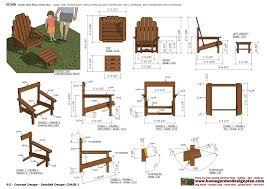 garden furniture plans zandalus net