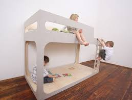 Plywood Bunk Bed Plywood Bunks Covers In Felt Home Things Pinterest Plywood