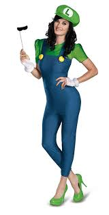 mario and luigi halloween costumes party city amazon com disguise women u0027s nintendo super mario bros luigi