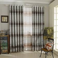 Striped Linen Curtains Striped Curtains Gray Linen Curtains For Bedroom