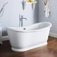 Bathtub Backsplash by Furniture U0026 Accessories Modern Design Of Free Standing Bathtub