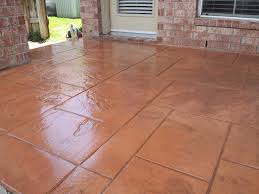 Best Sealer For Stamped Concrete Patio by Outdoor Patios In Houston