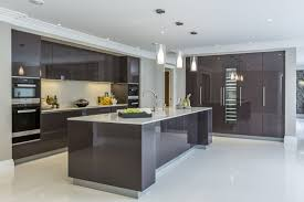 kitchen design newcastle extreme contemporary minimal high gloss kitchen design in private