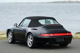Porsche 911 Hardtop Convertible - 1997 porsche 911 993 carrera cabriolet silver arrow cars ltd