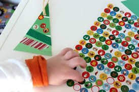 paint chip trees ornament craft for