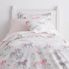Sheet Bedding Sets Enchanted Unicorn Percale Sheets Bedding Set The Company Store