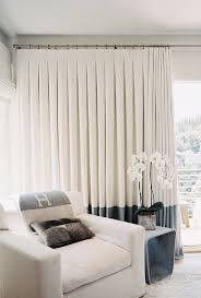 Curtain Band Great Example Of Inverted Pleat Curtains With A Large Band At Base