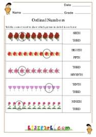 numbers worksheet grade 1