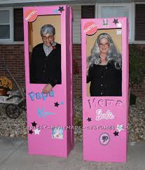 Barbie Ken Halloween Costume Mema Barbie Papa Ken Couple Costume