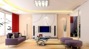 living room white wall painting design laminated wooden floor