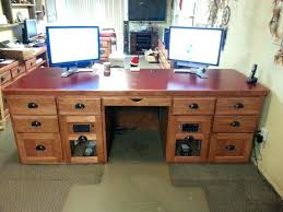Free Computer Desk Woodworking Plans Computer Desk Design Plans Sawed Apart Table Desk Free Computer