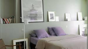 chambre gris vert couleur de chambre peinture déco côté maison