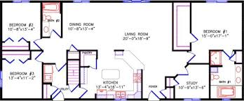 open floor plans one story simple one story open floor plan rectangular search